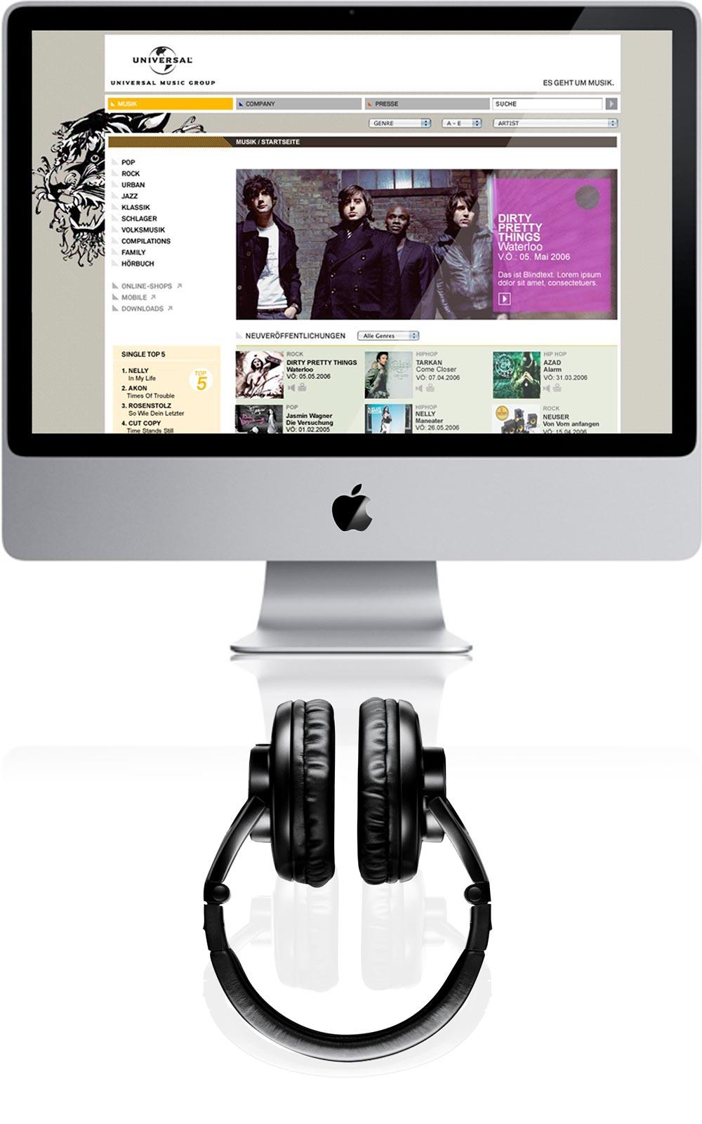 COEN Concept & Design Berlin - Universal Music